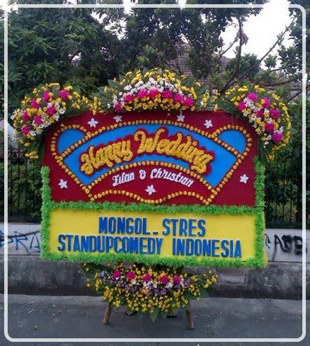 Karangan Bunga Papan Pernikahan Cantik 2 florist jakarta flower shop jakarta indonesia