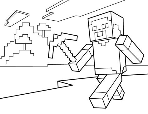 Minecraft Coloring Pages Free Printable Minecraft Pdf Minecraft Colouring Pages To Print