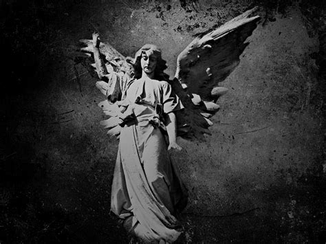Bible Verses For The Home Decor by Angel Of Death Bw Photograph By David Dehner