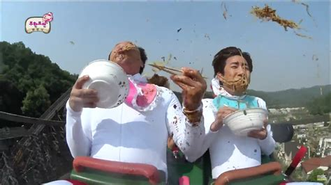 infinity challange kwanghee and jung jun ha lose their noodles during