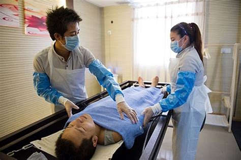 mortician occupation becoming popular in china china