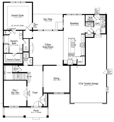 100 signature homes floor plans floor plan gary