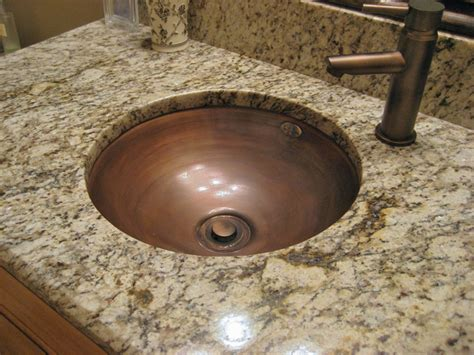 Oval Bathroom Sinks Copper Bathroom Sinks Copper Spun Custom Vanity Copper