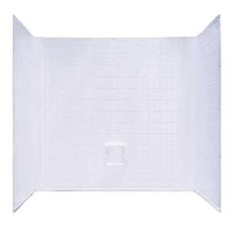 one piece bathtub surround amazon com kinro composites wuw 27std spk white uni wall one piece tub surround