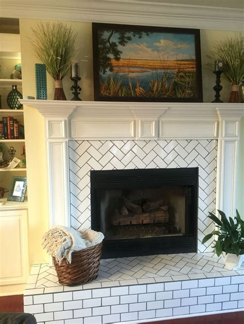 tile fireplace surround fireplace tile surround and hearth tile fireplace on