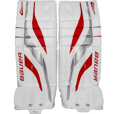 Who Needs Backup When Youre Bauer by Bauer Reactor 2000 Sr Goalie Leg Pads Senior Leg Pads