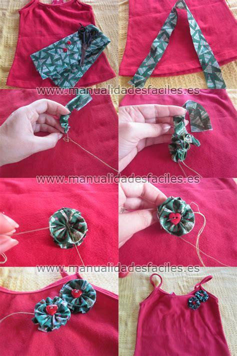 imagenes para decorar camisetas de navidad como decorar camisetas con flores de tela manualidades