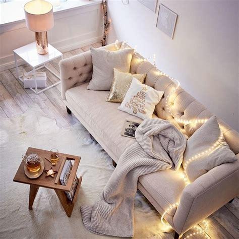 lichterkette wohnzimmer herbstlich gem 252 tliche mit lichterkette
