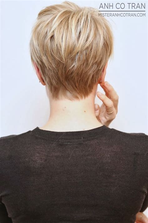 best 25 celebrity short haircuts ideas on pinterest celebrity very short bob back view best 25 pixie back
