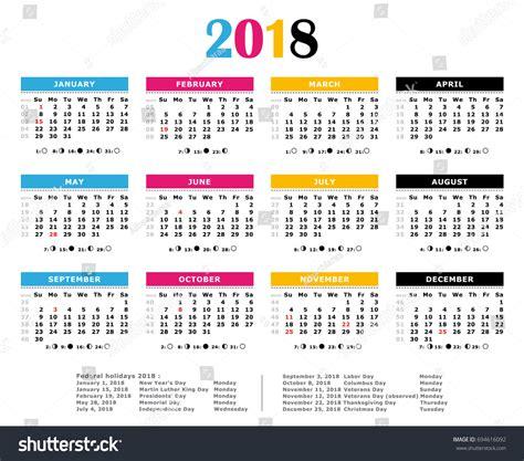 printable calendar us federal holiday calendar 2018 usa lifehacked1st com