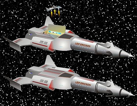 Interplanetary Galactic Style by Leif Ericson This Ship Was Designed By Trek S Matt