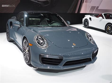 new porsche 2016 porsche unveils new porsche 911 and 911 turbo at 2016
