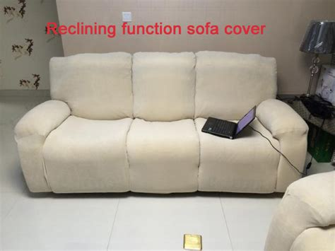 Reclining Sofa Slipcover Slipcover Reclining Function Sofa Cover Can Shake Slip Resistant Stretch Slipcover In Sofa Cover