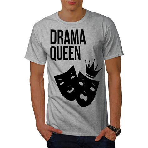 dramacool com drama queen cool funny men t shirt s 5xl new wellcoda ebay