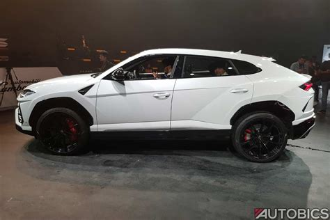 lamborghini urus white lamborghini urus priced at inr 3 crore in india autobics