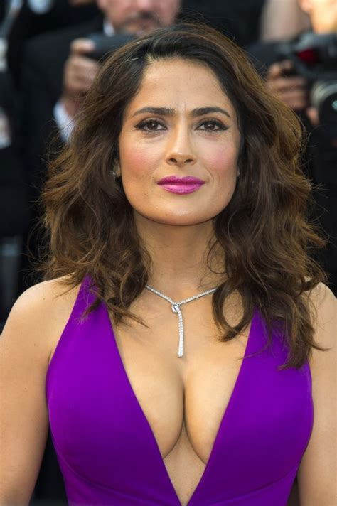 Salma Hayek Quits Habit Hollyscoop by 243 Best Images About Cleavage On Follow