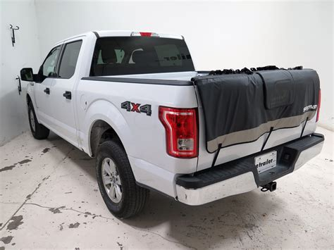 f 150 truck bed dimensions swagman tailwhip tailgate pad and bike rack for full size