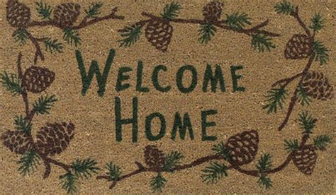 Welcome Home Mats by Second Marketplace Welcome Home Coir Door