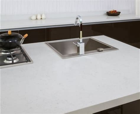 Kitchen Countertops Options by Fairy White Msi Quartz Countertops At Marblecitycompany