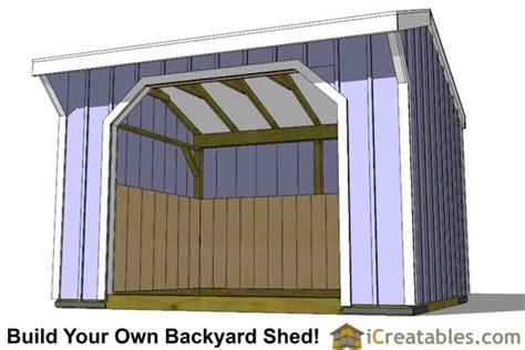 shed plans build   storage lean   garage shed