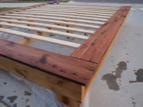 Diy Platform Bed Frame King Size Platform Bed Frame Woodworking Projects