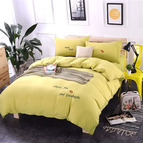 Yellow Bed Sheets by Popular Bright Yellow Bed Sheets Buy Cheap Bright Yellow