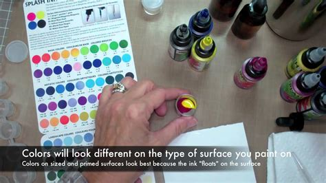 tattoo ink hair dye how to mix and store splash ink youtube
