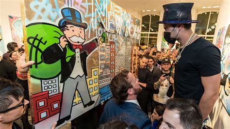 door to door transport services geneva ny new york artist alec monopoly cashes in on success