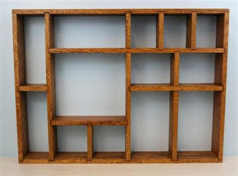 wooden shadow boxes with shelf wooden curio collectible