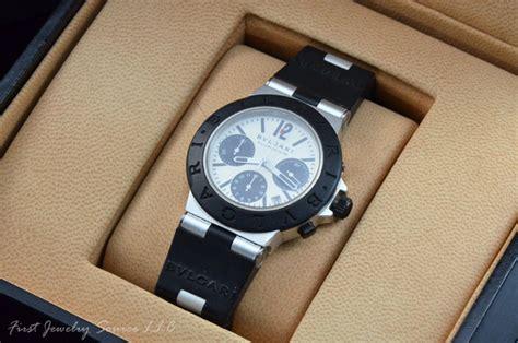 Ac 6338 Chronograph Mens Original Silver mens bvlgari aluminum automatic chronograph ac38ta
