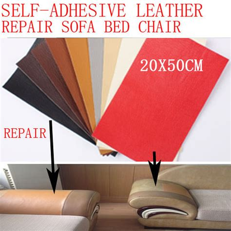 how to repair a hole in leather couch sofa repair leather self adhesive pu for car seat chair