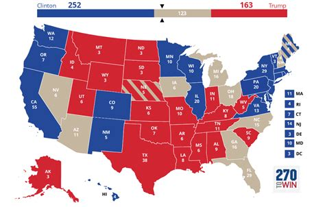 map of swing states the veterans factor will they tip this election go blindly