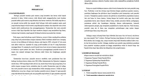format makalah umum makalah virus ebola contoh makalah kita