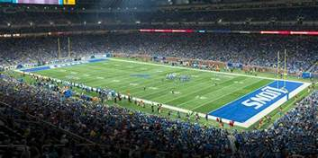 Detroit Lions Ford Field Ford Field Detroit Lions Musco Sports Lighting