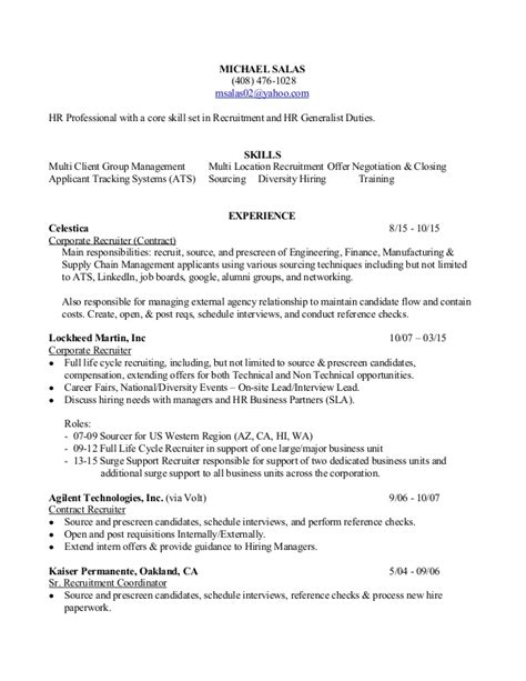 Physician Recruiter Resume by Bilingual Recruiter Resume Bilingual Recruiter Resume 3 Bilingual Recruiter Resume Physician