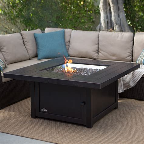 Propane Tables On Sale Napoleon Square Propane Pit Table Pits At