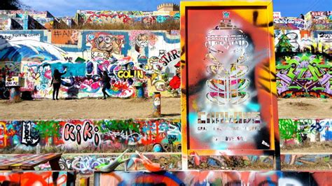 Military Wall Mural graffiti wall austin texas hope outdoor gallery solo