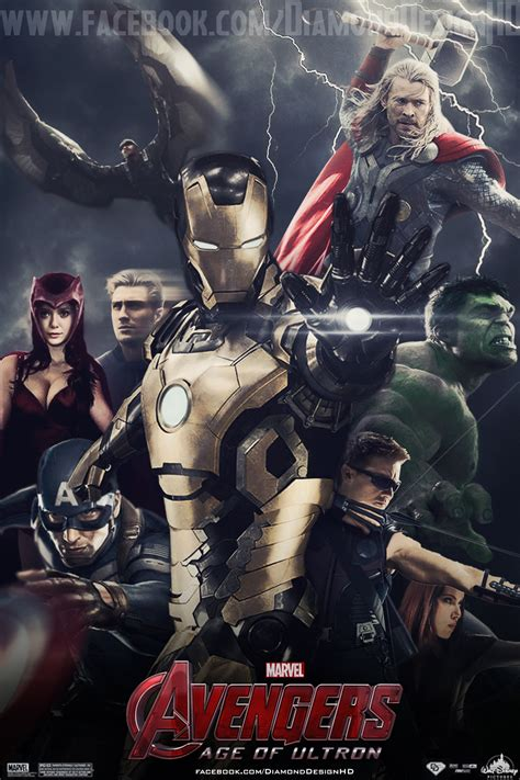 film baru evenger fan made avengers age of ultron poster off topic comic
