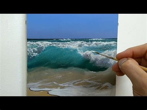 youtube tutorial paint how to paint a seascape oil painting tutorial youtube