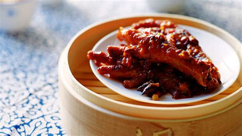 Food Network Kitchen Show by Braised Chicken Feet In Black Bean Sauce Recipes Sbs Food