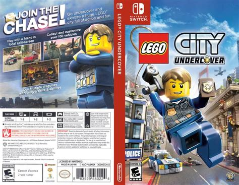 Switch Lego City Undercover lego city undercover nintendo switch videogamex
