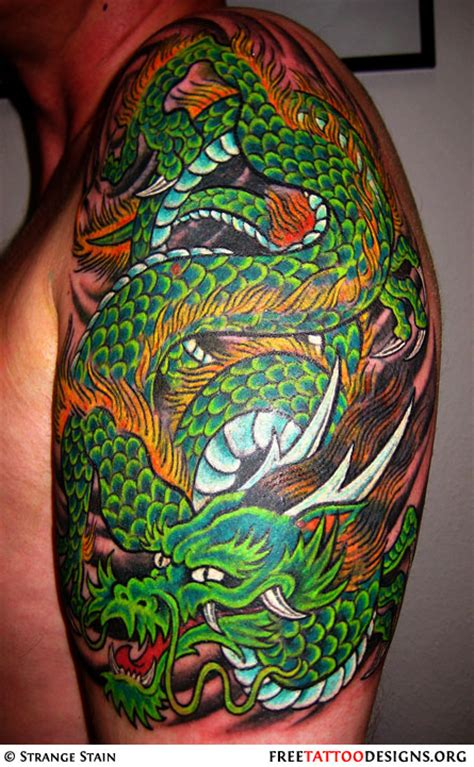 dragon tattoo designs shoulder gallery