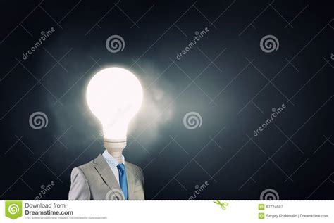 full of great ideas how his head full of great ideas stock photo image 67724687