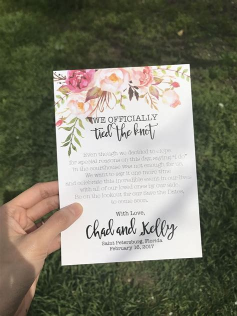 Wedding Announcement For Elopement by 166 Best Elopement Ideas Images On