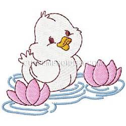 free embroidery design duck