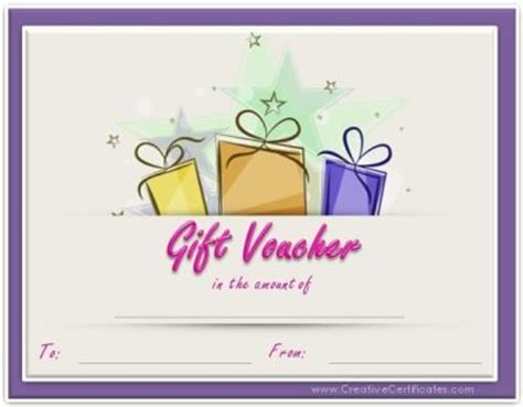 printable voucher birthday free printable gift vouchers instant download no