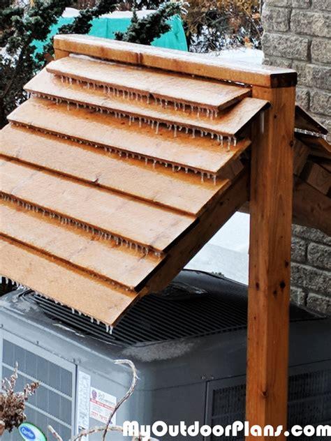 diy heat pump roof myoutdoorplans  woodworking