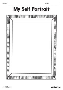all about frames self portrait frame template pictures to pin on