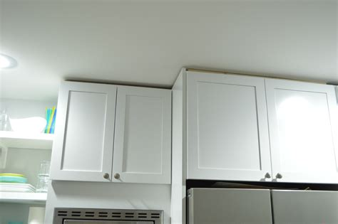 Kitchen Cabinets Trim Another Kitchen Project Done Loving Here