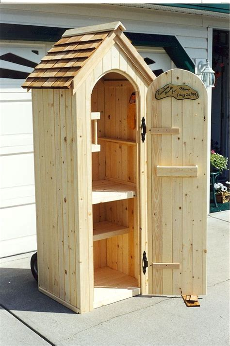 custom pine outdoor garden tool shed  houses